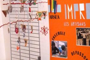 actu impro les artisans marché de Noël 2016