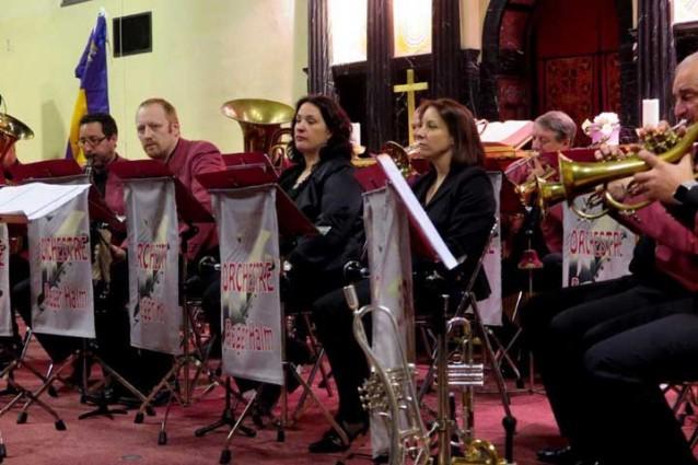 les artistes de l'orchestre Roger Halm